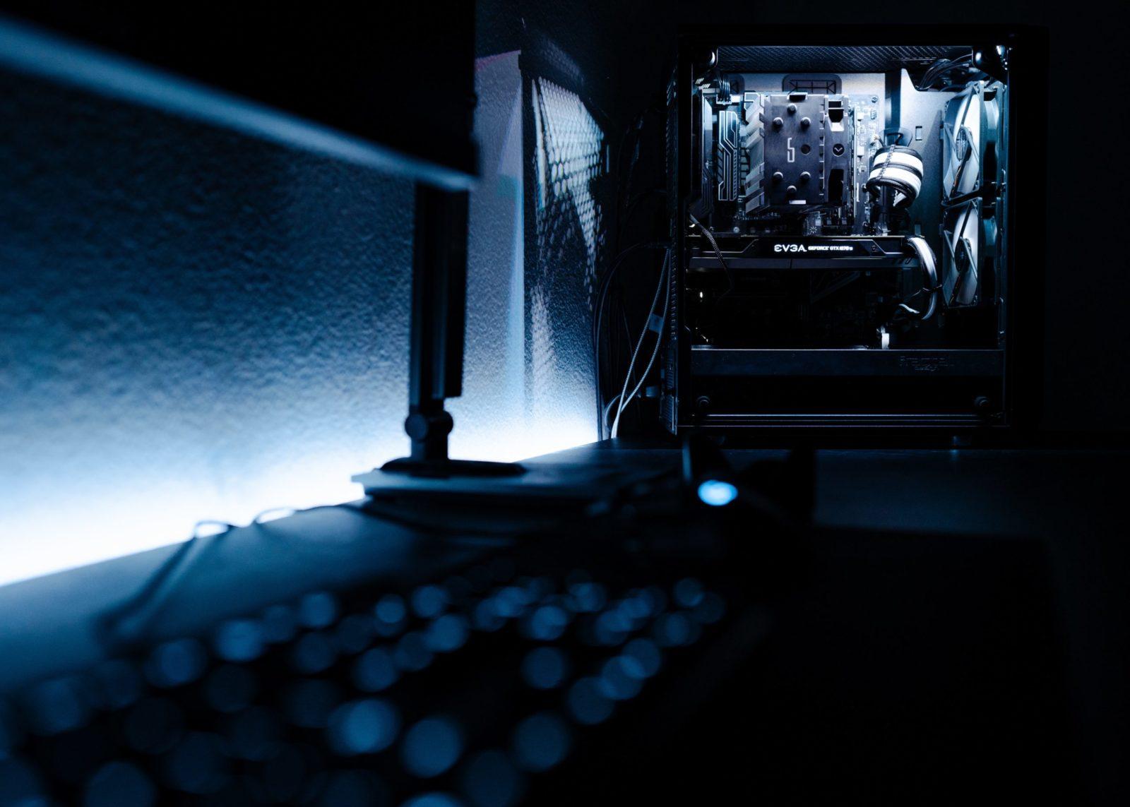 Ein PC-Gehäuse